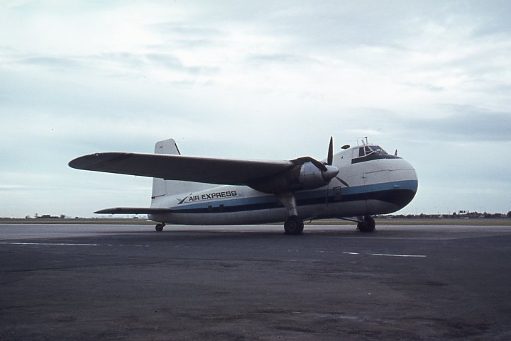 Story - I worked with Bristol Freighters.