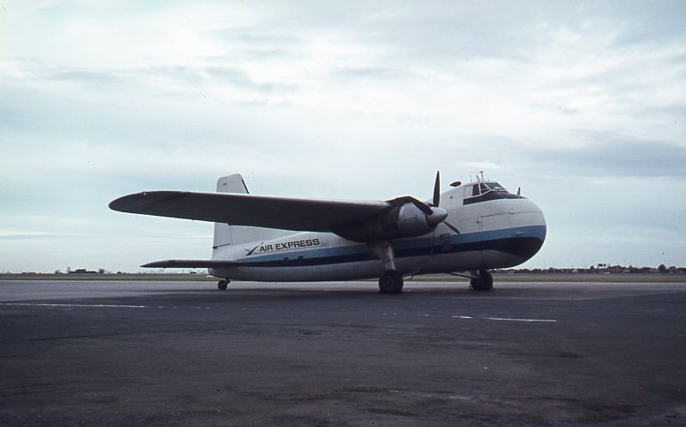 Click to expand. Photo supplied by Lindsay Walker of a Bristol Freighter at Essendon Airport July 1973