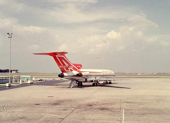 Story - I won an Ansett competition back in 1955