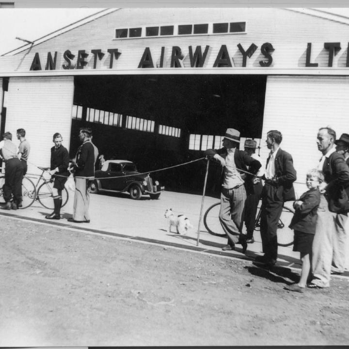 Story - Hangar 3 Constructed for Ansett