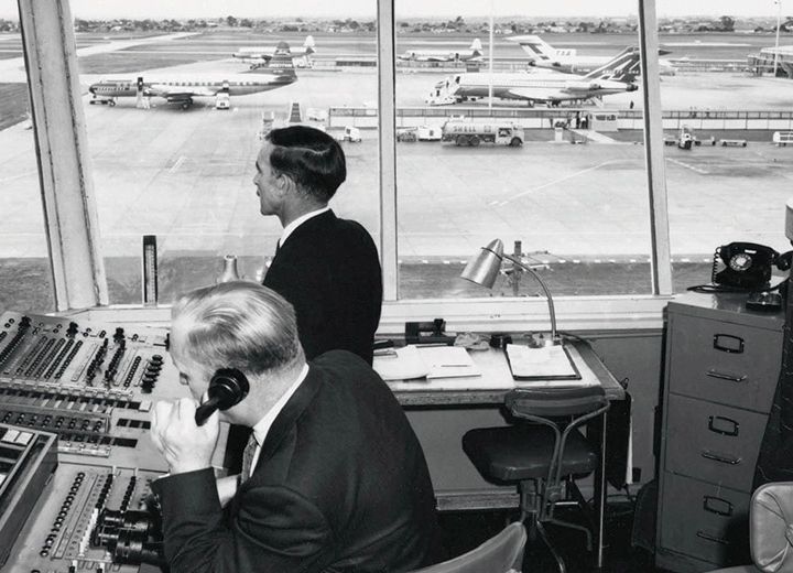 Story - The First Aerodrome Control Officers