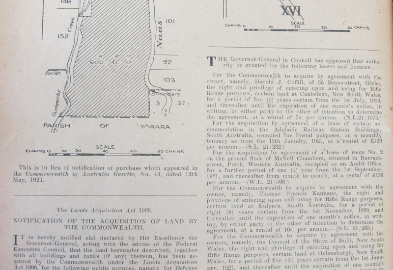 Click to expand. Photo supplied by CAHS showing the official Gazetting of Essendon Aerodrome.