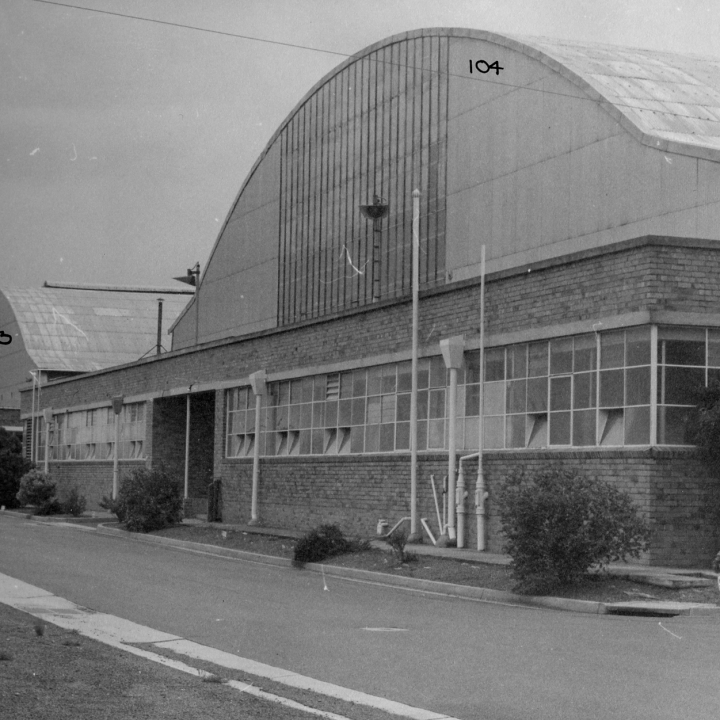 Story - Hangar 103 and 104 Constructed