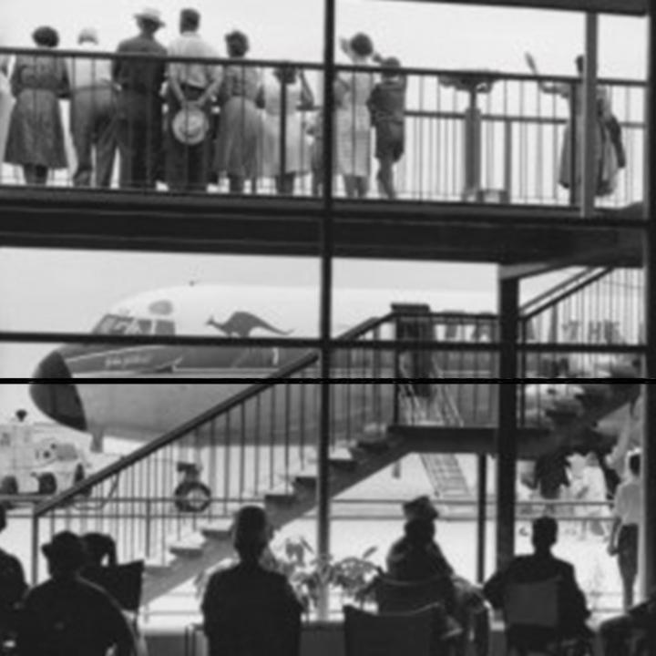 Story - A brand spanking new QANTAS Airways Boeing 707