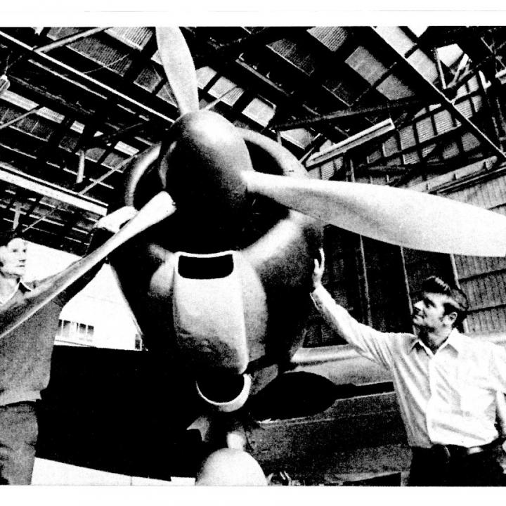 Story - My friend built Japanese Zero at Essendon