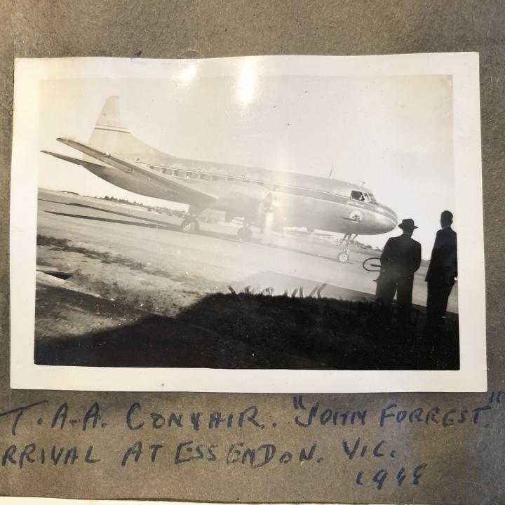 Story - My brother pushed Reg Ansett's son into a pond