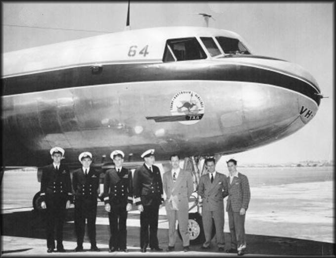 Story - My grandfather helped bring the first Convair to Essendon