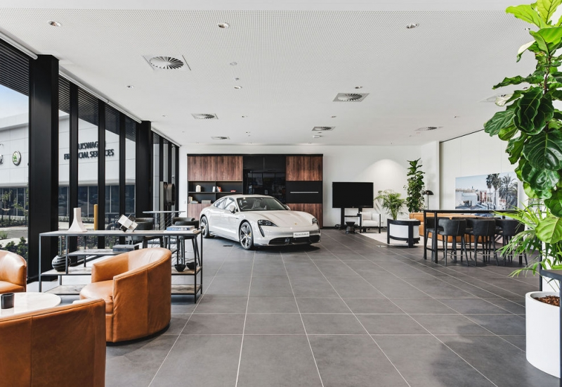 Click to view gallery of images. Photo of Porsche Training Centre At Essendon Fields