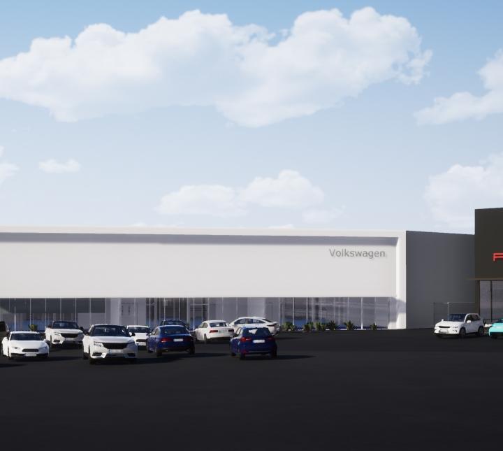 Story - Builds of VW & Porsche Training Centres begin